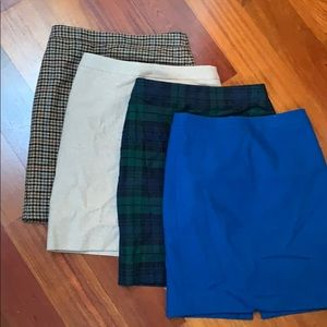 J. Crew Pencil Skirts. All size 4. $20 for bundle